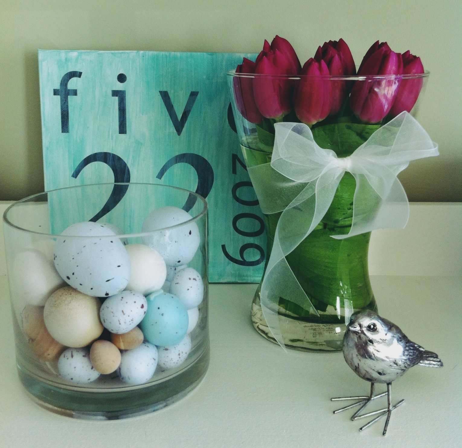 Vasen Ikea tulips high and low nest in the