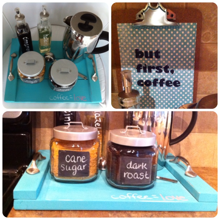 coffee station DIY