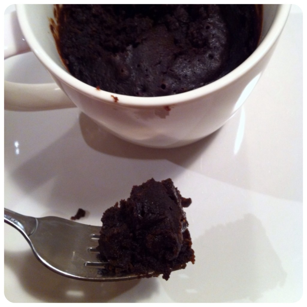 2 minute mug brownie