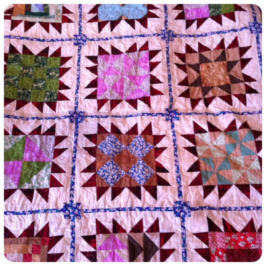 Handmade quilt prize